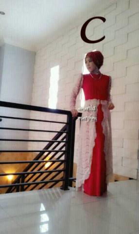 model busana muslim wanita modern AMARILIS by Marghon C