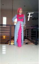 model busana muslim wanita modern AMARILIS by Marghon F