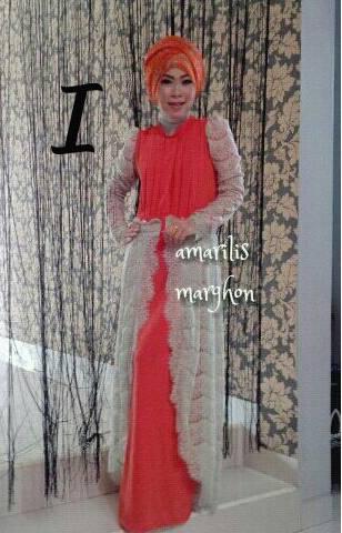 model busana muslim wanita modern AMARILIS by Marghon I