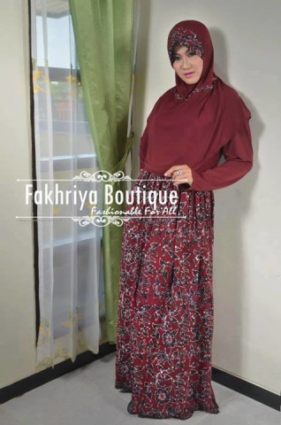 gamis online terbaru Anjani By Fakhriya Marun