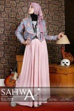 busana pesta elegan BALIMO NEW SAHWA Grey