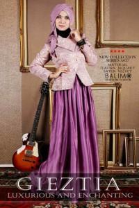 busana muslim cantik terbaru Balimo Gieztia no.8 Purple