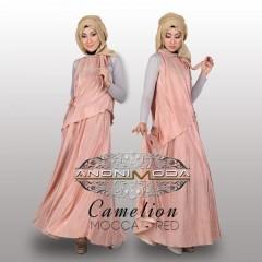 busana hijab modern CAMELION BY ANONIMODA Mocca Red