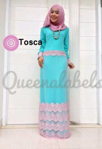 busana dalam islam CLONE DRESS by Queena Tosca