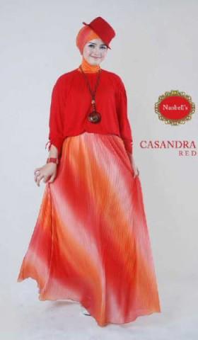 gamis pesta terbaru Casandra (New Color) Red
