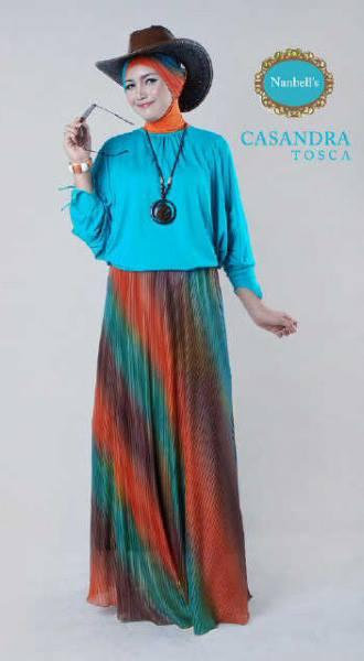 Casandra Tosca Baju Muslim Gamis Modern