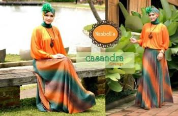 gamis online Cassandra Orange