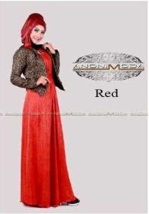 baju wanita modern terbaru DEENERYS CRINKLE Red