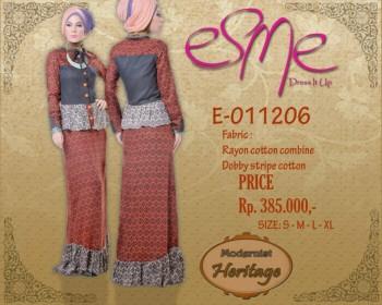 pakaian wanita muslim E-011206