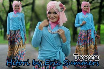 busana hijabers trendy HITORI BY ERIC SUMMER Tosca