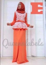 busana hijabers terbaru MEDELINE Dress by Queena E