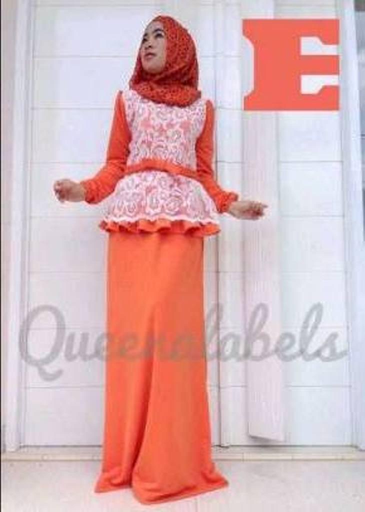 Medeline Dress By Queena E Baju Muslim Gamis Modern