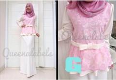 gamis muslim modern murah  MEDELINE Dress by Queena G
