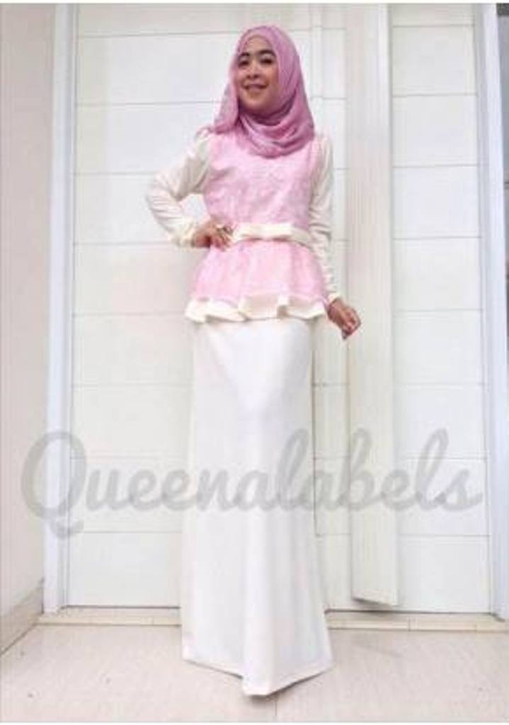 Medeline Dress G Baju Muslim Gamis Modern