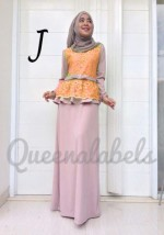 gamis muslimah trendy  MEDELINE Dress by Queena J