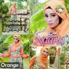 busana untuk pesta NAURA by Ayyanameena Orange