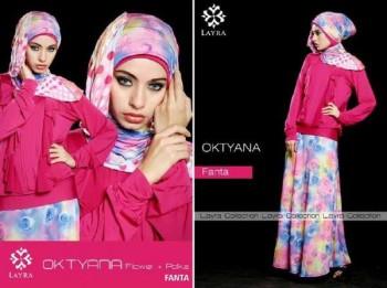 busana muslim modern online OKTYANA BY LAYRA Fanta