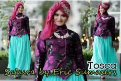 busana kantor hijab SAKURA BY ERIC SUMMER Tosca