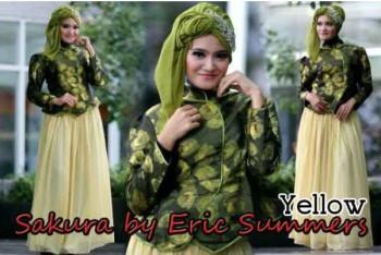 busana kerja wanita modern SAKURA BY ERIC SUMMER Yellow