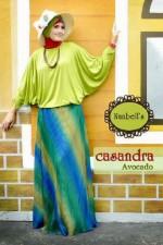 baju gamis hijab casandra avocado