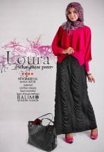 baju muslim terbaru 2014  BALIMO LOURA Magenta