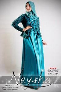 baju muslim elegan wanita  BALIMO NEYSHA 5 Tosca