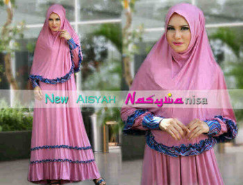 gamis gaul online Baby Pink