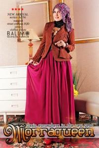 baju muslim anak terbaru  Balimo Morraqueen Brown