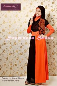 baju muslimah fashion DRESSLY LA SWEET