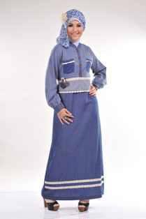 baju muslimah modis  Gamis HAFSA