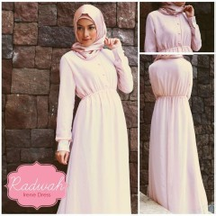 gamis rabbani collection IRENE DRESS AVAILABLE COLOR SOFT PEACH