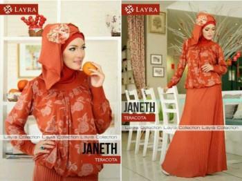 baju muslim pesta wanita  JANETH by Layra Terracota
