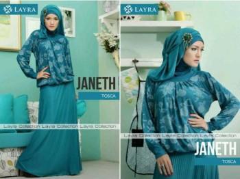 model baju pesta muslim wanita  JANETH by Layra Tosca