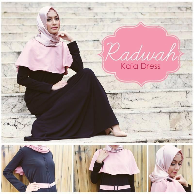 Kaia Available Color Baju Muslim Gamis Modern