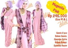 gamis wanita online Magnolia Pink