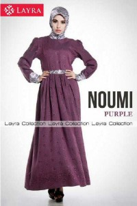 baju muslimah online  New NOUMI by Layra Purple