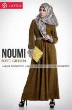 baju muslim pesta wanita  New NOUMI by Layra Soft Green