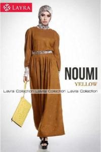 model baju muslimah yang lagi trend  New NOUMI by Layra Yellow