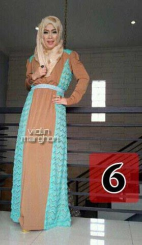 baju muslim terbaru online  Violin 6