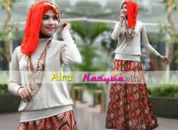 baju muslim untuk kerja  Aira by Nasywannisa Kreem