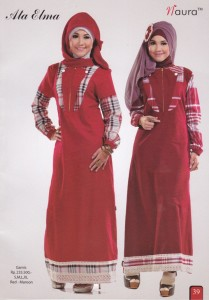 baju muslim couple online  Ata Elma by Naura