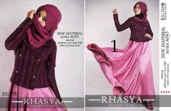 baju muslim hijaber  BALIMO RHASYA 1