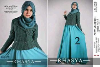 busana muslim hijab modern  BALIMO RHASYA 2