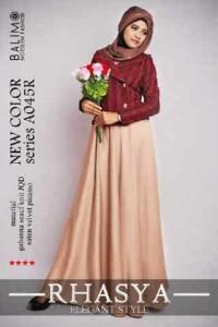 baju muslimah online  BALIMO RHASYA 3 brown