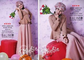 busana muslim fashion  Balimo Dhebie Brown