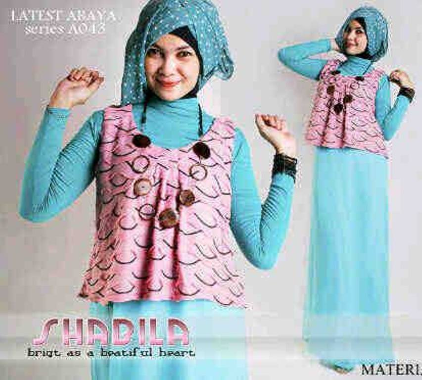 Balimo Shabila Bby Pink Baju Muslim Gamis Modern