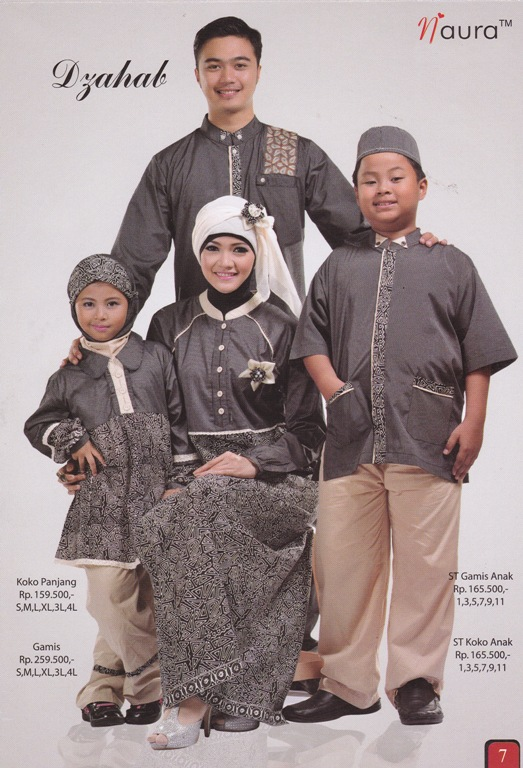 Dzahab By Naura Baju Muslim Gamis Modern