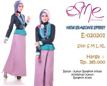 busana muslim trendy E-020201