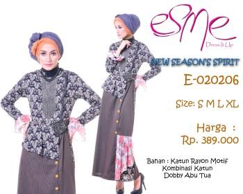 busana hijabers trendy E-020206