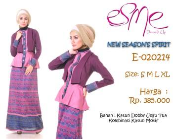 baju muslimah trendy  E-020214